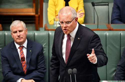 The recording, which is set to be distributed internationally in the coming weeks, contains a direct warning issued by Mr Morrison to asylum seekers.
