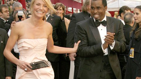 'Friends' Cameron Diaz and P. Diddy caught 'making out'