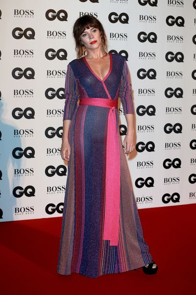 Anna Friel in Missoniat the BritishGQMen of the Year Awards