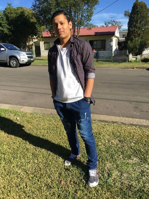 Anand Singh was shot at 1.45am this morning. (Supplied)