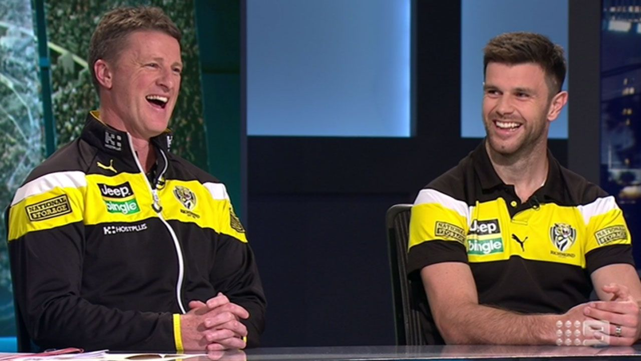 Full interview with Damien Hardwick and Trent Cotchin