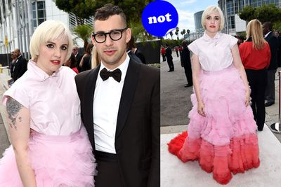 No surprises here that <i>Girls</i> star Lena Dunham has ended up on our worst dressed list for another year. But her main squeeze Jack Antonoff is looking mighty fine!