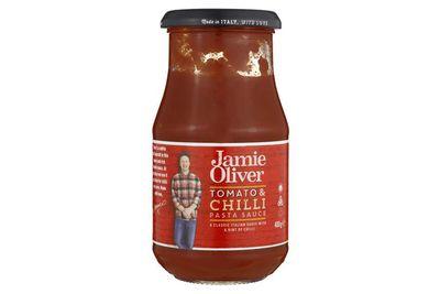 Jamie Oliver Tomato and Chili pasta sauce