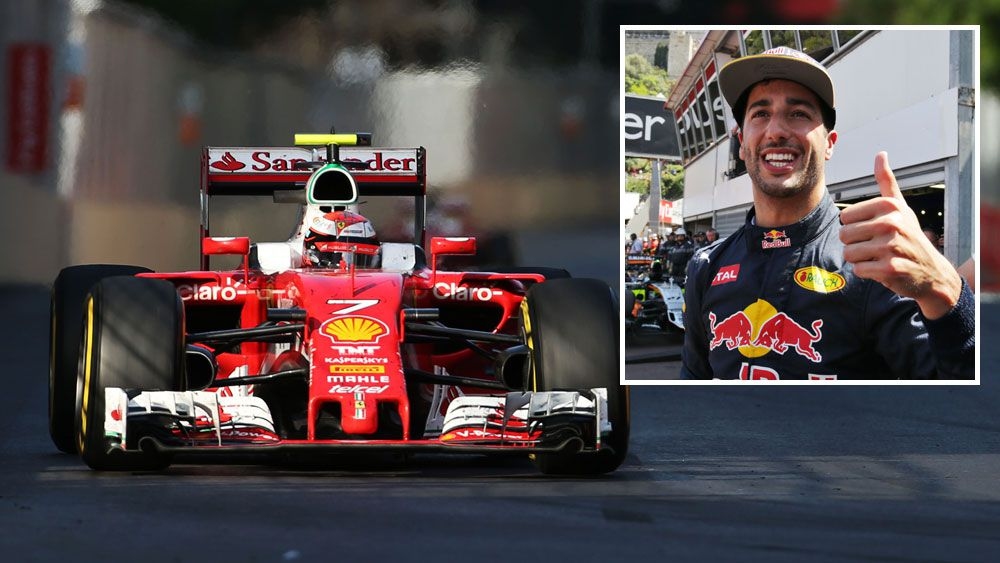 Ricciardo excited by Ferrari links