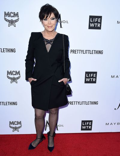 The first lady of reality TV, Kris Jenner