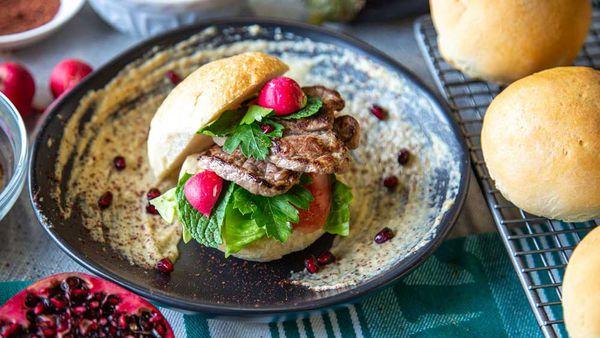 The Boumerhi's Lebanese Beef Taco