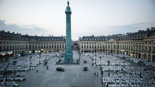 The year the event was held at the Place Vendome. (AFP)