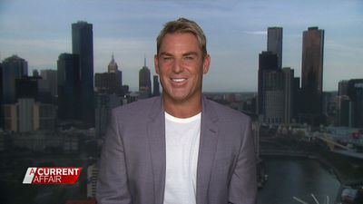 Shane Warne slams Woman's Day, defends gambling outing with 18-year-old son