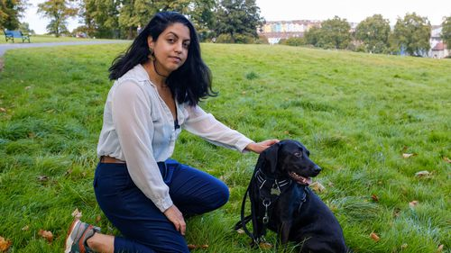 Estefania Hidalgo from Bristol in the UK signed up to the challenge trial as a way of taking control of her situation after long hours alone during lockdown.