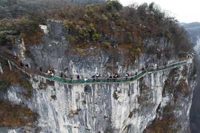 <strong>The Coiling Dragon Cliff Skywalk, China</strong>