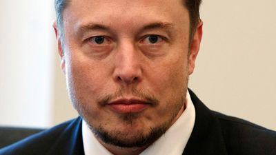 Elon Musk describes 'most difficult, painful year' in teary interview