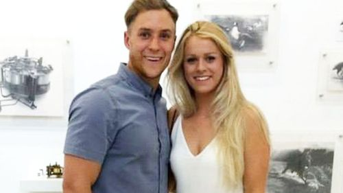 Jason Francis and Alice Robinson were set to spend their first Christmas in Australia together before tragedy struck.