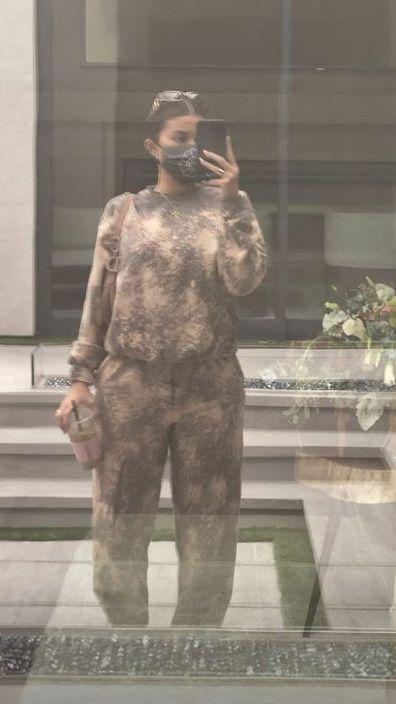 Kylie Jenner, selfie, Instagram