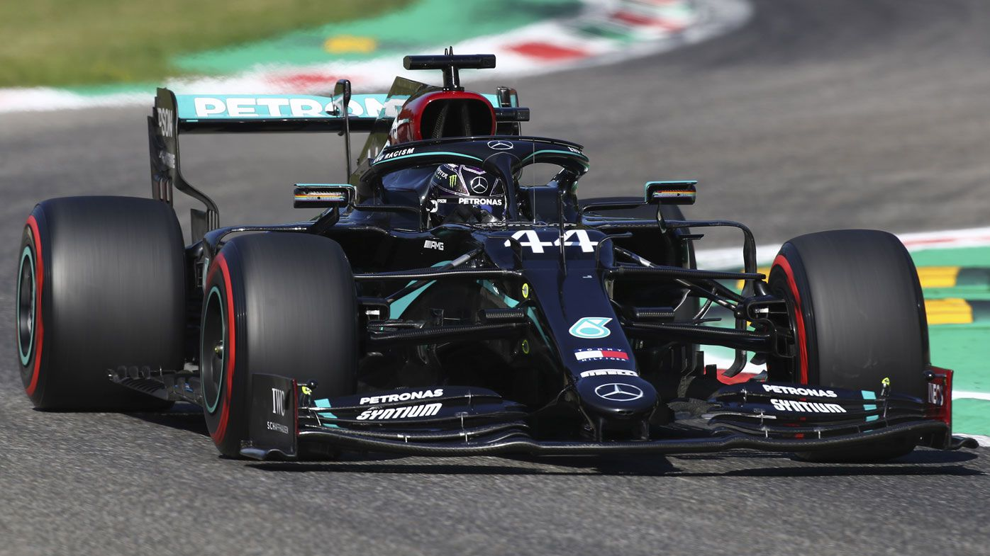 F1 Italian Grand Prix Qualifying Results Lewis Hamilton Pole Fastest Lap In History Monza