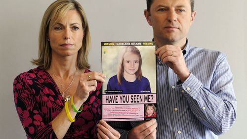 Kate and Gerry McCann appeal for information about Madeleine.