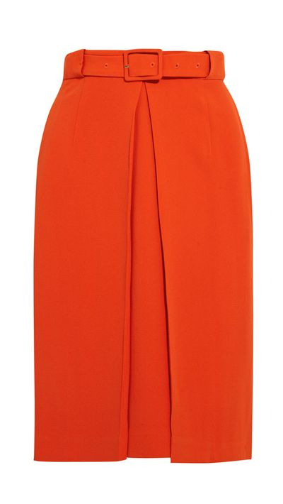 "<a href=""http://www.theoutnet.com/en-AU/product/Raoul/Pleated-crepe-skirt/482776"">Pleated Crepe Skirt, approx. $174, Raoul</a>"