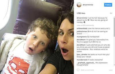 Actress Minnie Driver is a single mother to her son Henry, eight years old. Minnie kept the identity of Henry's father secret for years until 2012 when she revealed Henry's dad is television producer, Timothy J Lea.