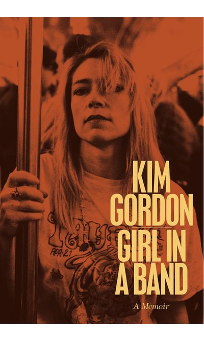 <p>'Girl in a Band: A Memior' by Kim Gordon</p>