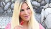 Tori Spelling's fans accuse her of Photoshopping a swimsuit pic promoting 'body love'