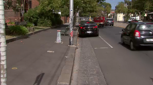 There was a lack of CCTV in the area, making piecing together the incident harder for police (9NEWS)