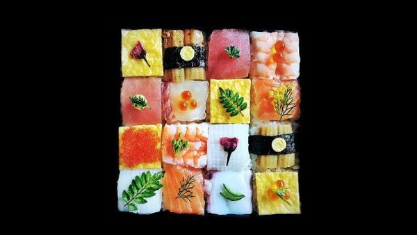 Is Japan's new mosaic sushi craze too beautiful to eat?
