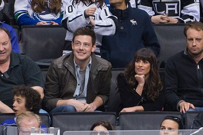 Lea and Cory attended the New York Rangers vs New Jersey Devils playoff game at Madison Square Garden in March.