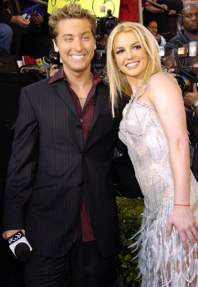 Lance Bass and Britney Spears red carpet interview