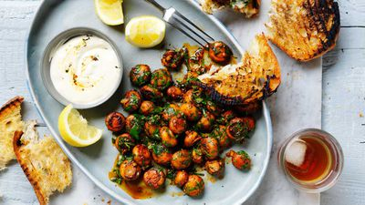 "Recipe: <a href=""http://kitchen.nine.com.au/2017/07/28/16/20/tapas-style-garlic-mushrooms"" target=""_top"">Tapas-style garlic mushrooms</a>"