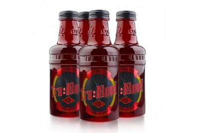 <i>True Blood</i> blood-orange drink.<br/><br/>(trubeverage.com)