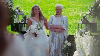 Georgia's mother's dress