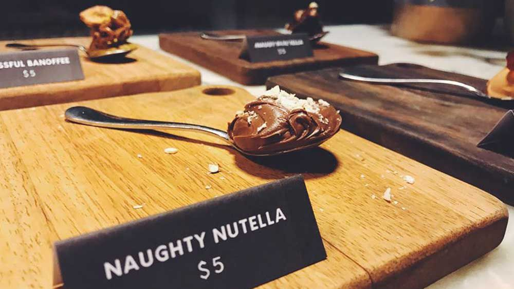 Spoonful of Sugar's 'Naughty Nutella' dessert. Image: Melbourne Cool
