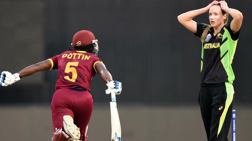 The moment Australia's women lost the Twenty20 World Cup. (AFP)
