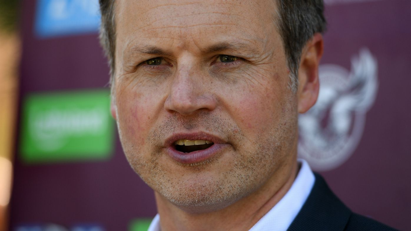 Manly Sea Eagles boss Scott Penn