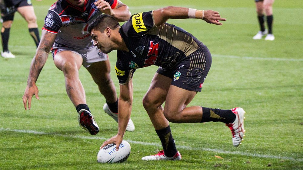 Panthers late NRL show blows away Warriors