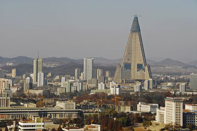 <strong>The Ryugyong Hotel, Pyongyang, North Korea</strong>