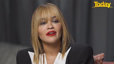 Rita Ora spoke to Brooke following her Mardi Gras performance.