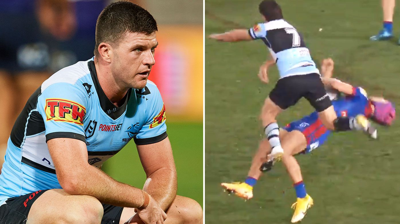 Sharks Chad Townsend faces five-week suspension for Kalyn Ponga shoulder charge – Wide World of Sports