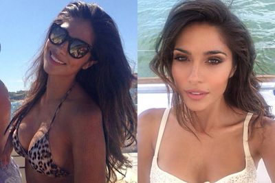 Pia is one seriously stunning selfie taker.