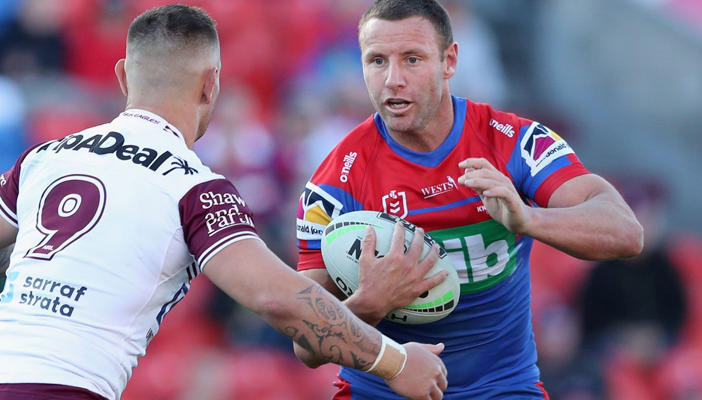 Blake Green in action for Newcastle.