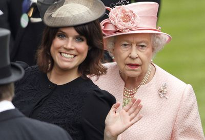 Princess Eugenie and Queen Elizabeth II at Royal Ascot 2013