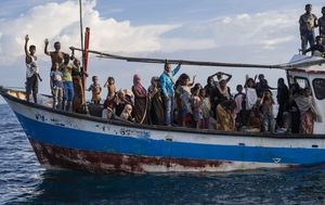 At least 94 Rohingya boat people rescued off Indonesia