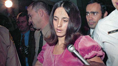 Susan Atkins in 1969. (AAP)