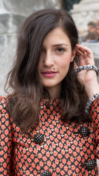 Eleonora Carisi: The side-swept hair