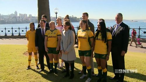 The women's football and rugby world cups are among the events being targeted. Picture: 9NEWS