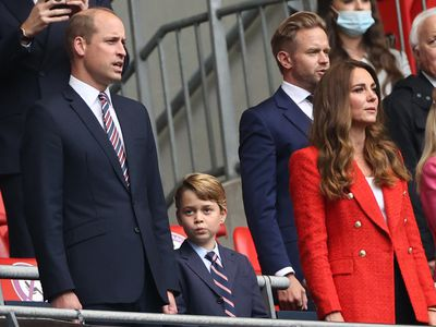 Prince George's 'twinning' moments with dad William