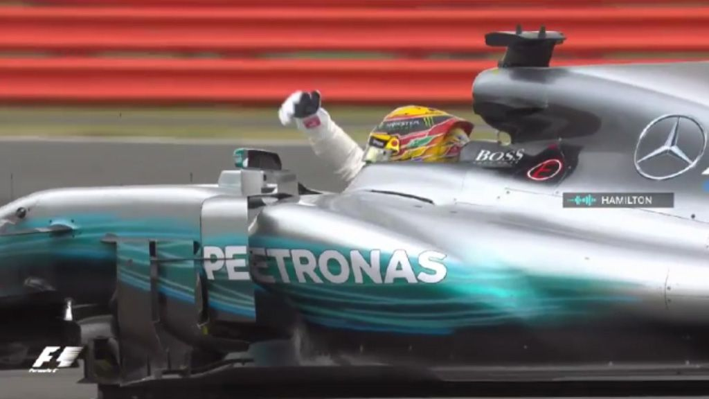 Hamilton wins British Grand Prix