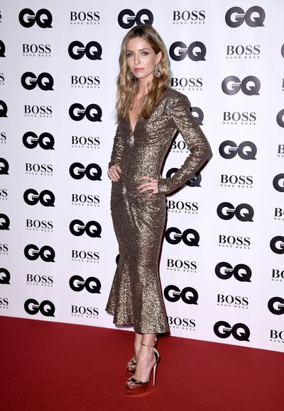 Annabelle Wallis in Chanelat the BritishGQMen of the Year Awards