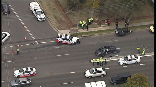 Three serious crashes involving police pursuits have occurred across Sydney in less than a week.