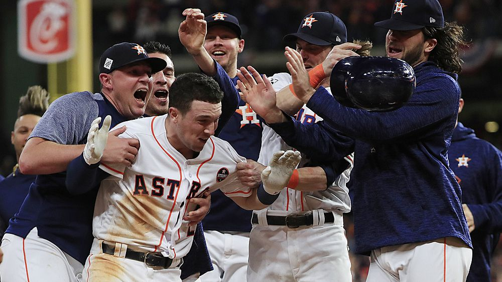 MLB World Series: Houston Astros beat LA Dodgers in thrilling Game 5 slogfest