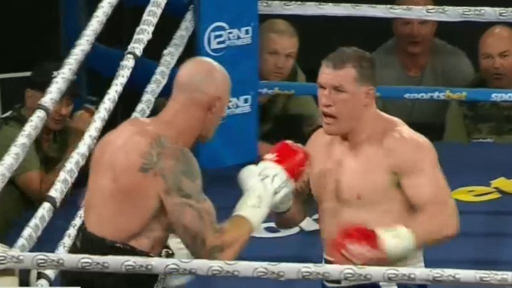 Barry Hall confirms return to ring with two more fights after Paul Gallen draw